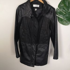 BLINK danier leather jacket XS